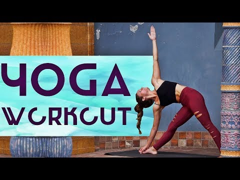 Total Body Yoga Burn Workout (Build A Strong Handstand Practice With Core Strength Exercises)