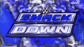 "WWE: SmackDown - ""Black And Blue"" - Official Bumper Theme Song 2015"