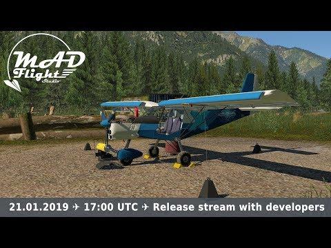 ✈ [X-Plane 11] ✈ Spectr-Aero SP-30 Release!!! ✈ Stream with developers