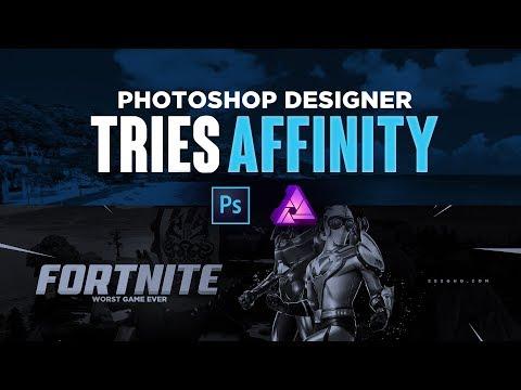Photoshop Designer Tries Affinity Photo