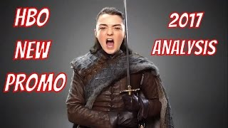 HBO New Promo 2017 Analysis - Game of Thrones