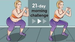 21-Day Morning Challenge To Reduce Fat
