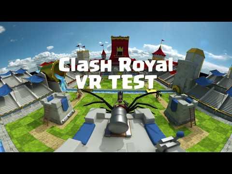 Clash RoyaleVR - 360 virtual reality