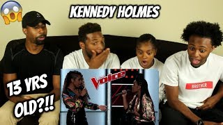 """The Voice 2018 Blind Auditions - Kennedy Holmes' Cover of Adele's """"Turning Tables"""" Gets Four Turns"""