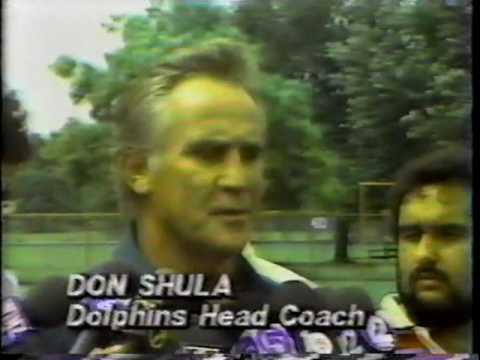 Dan Marino Holdout 1985 Pre Season