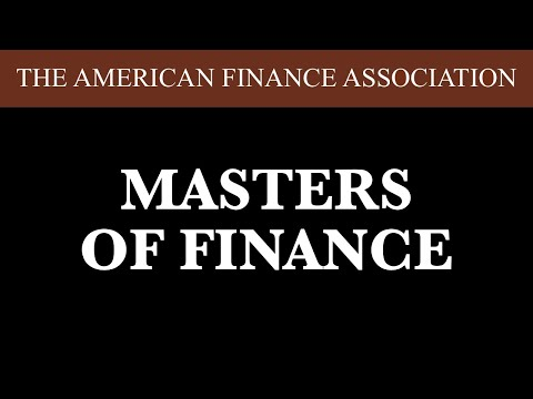 Masters Of Finance: Introduction