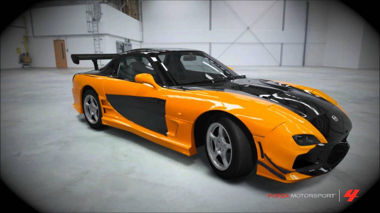 Forza Tokyo Drift Cars Youtube