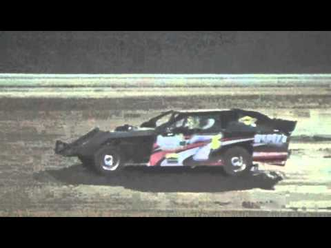 Ark La Tex Speedway Limited Modified A feature part 1 fan night 4/23/16