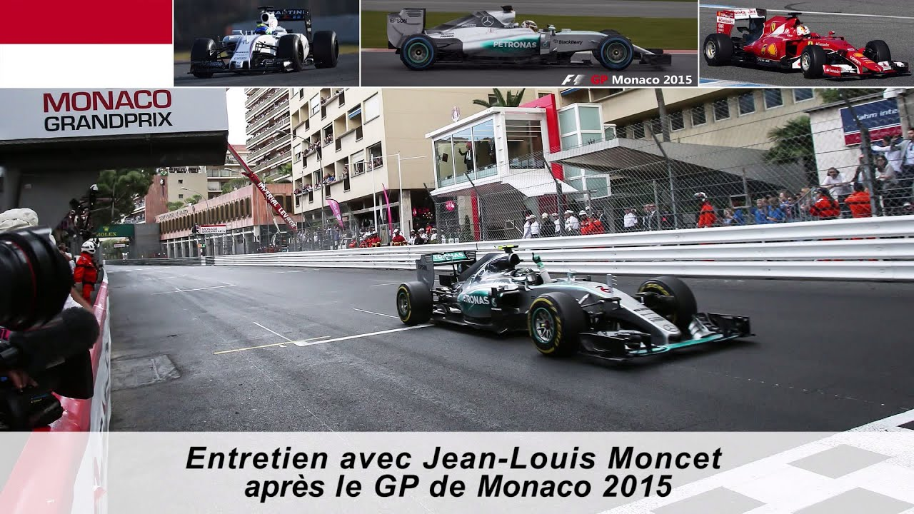 entretien avec jean louis moncet apr s le gp de monaco 2015 youtube. Black Bedroom Furniture Sets. Home Design Ideas