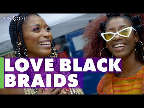 Loving Black Braids: International I Love Braids Day