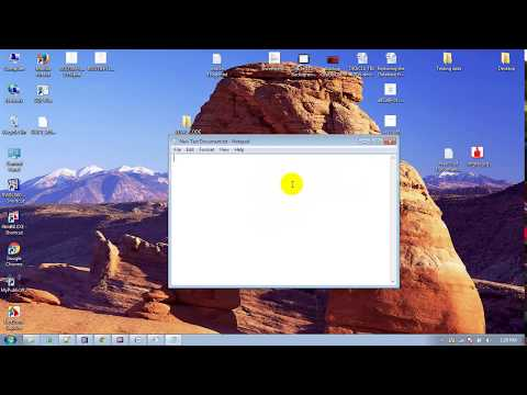Create bat file open Facebook, google any site in google || SYSTEM VIDEO : 08