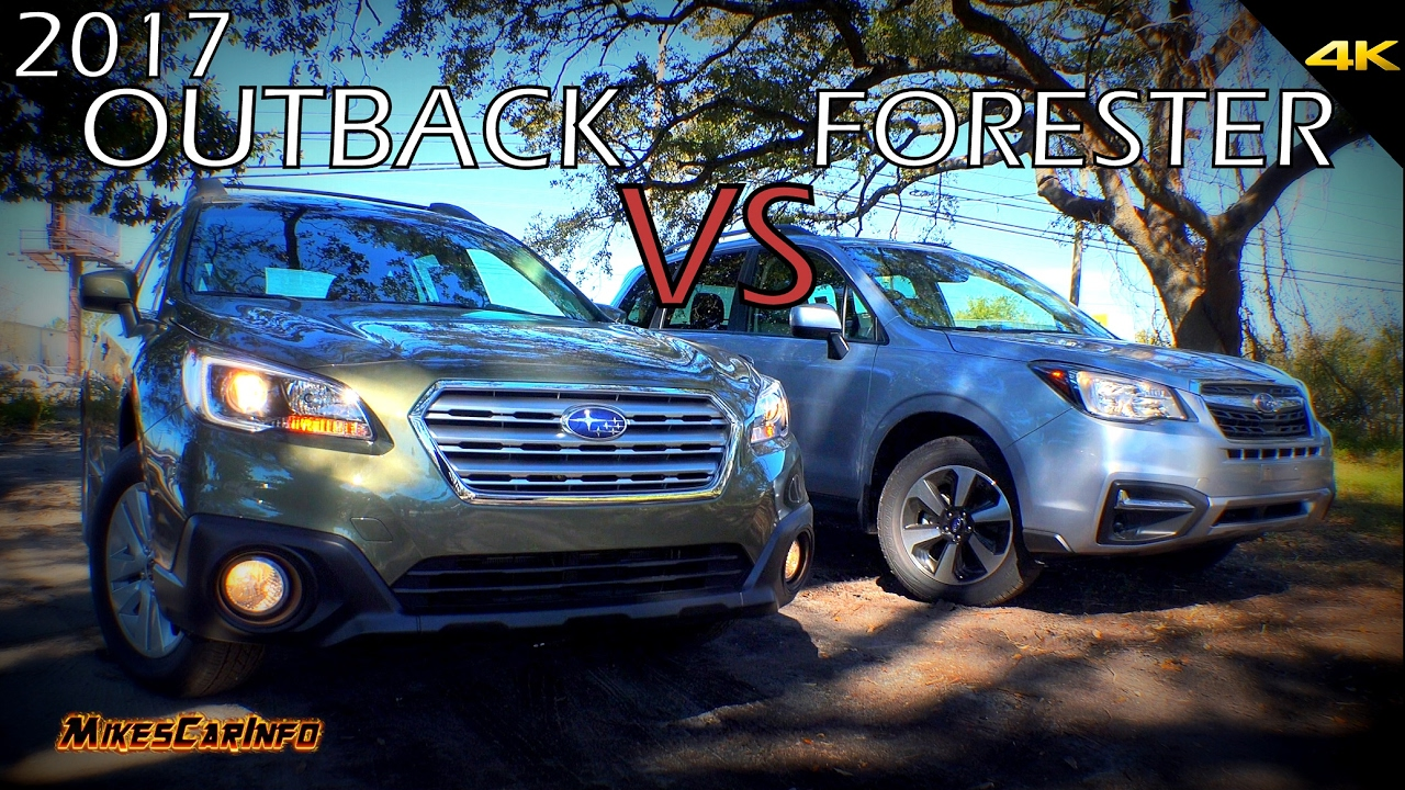 Subaru Outback Vs Forester >> Ultimate Comparison: 2017 Subaru Outback vs Forester - YouTube