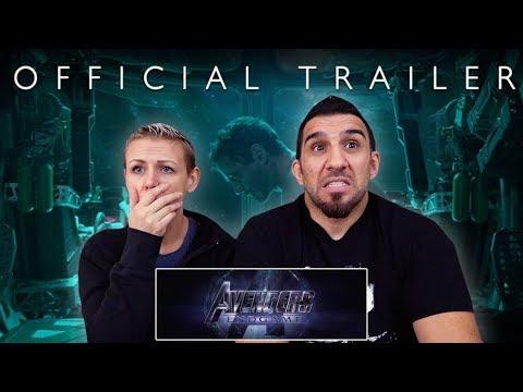 Marvel Studios Avengers Endgame - Official Trailer REACTION!!