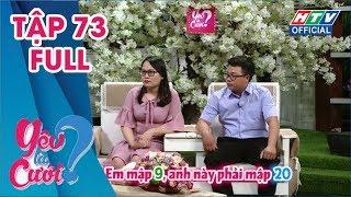 image YÊU LÀ CƯỚI | Tự lập sớm nên từ yêu đến cưới cũng dễ dàng hơn | YLC #73 FULL | 16/3/2019