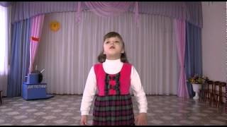 """Детский сад № 395. Стих. """"ЖУРАВЛЁНОК"""" 290414"""