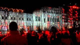 Световое Шоу Круг света( красная площадь ГУМ)