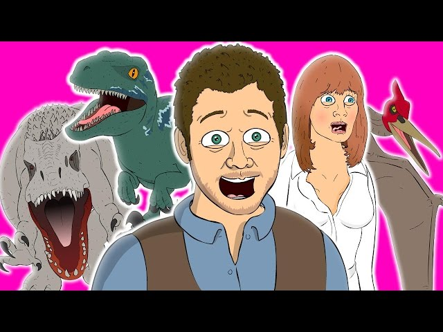? JURASSIC WORLD THE MUSICAL - Animated Parody Song