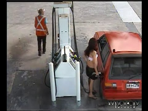 STEALING FUEL BUNGLE A GETAWAY FROM MT WARREN PARK PETROL STATION