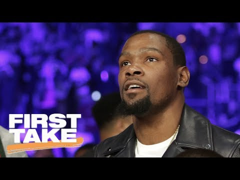 Kevin Durant Doing What He Can To Keep Warriors Together   First Take   June 20, 2017