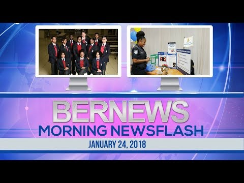 Bernews Newsflash For Wednesday, January 24, 2018