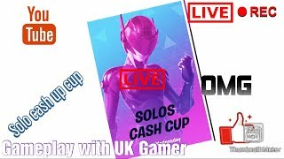 Fortnite ready for solo cash cup + Road to 1k subs + Giveaway at 1k