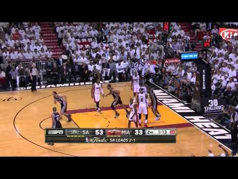 Cool Spurs Ball Movement (NBA Finals, Game 4)
