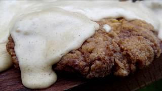 Chicken Fried Steaks with Gravy -KuchniaKwasiora