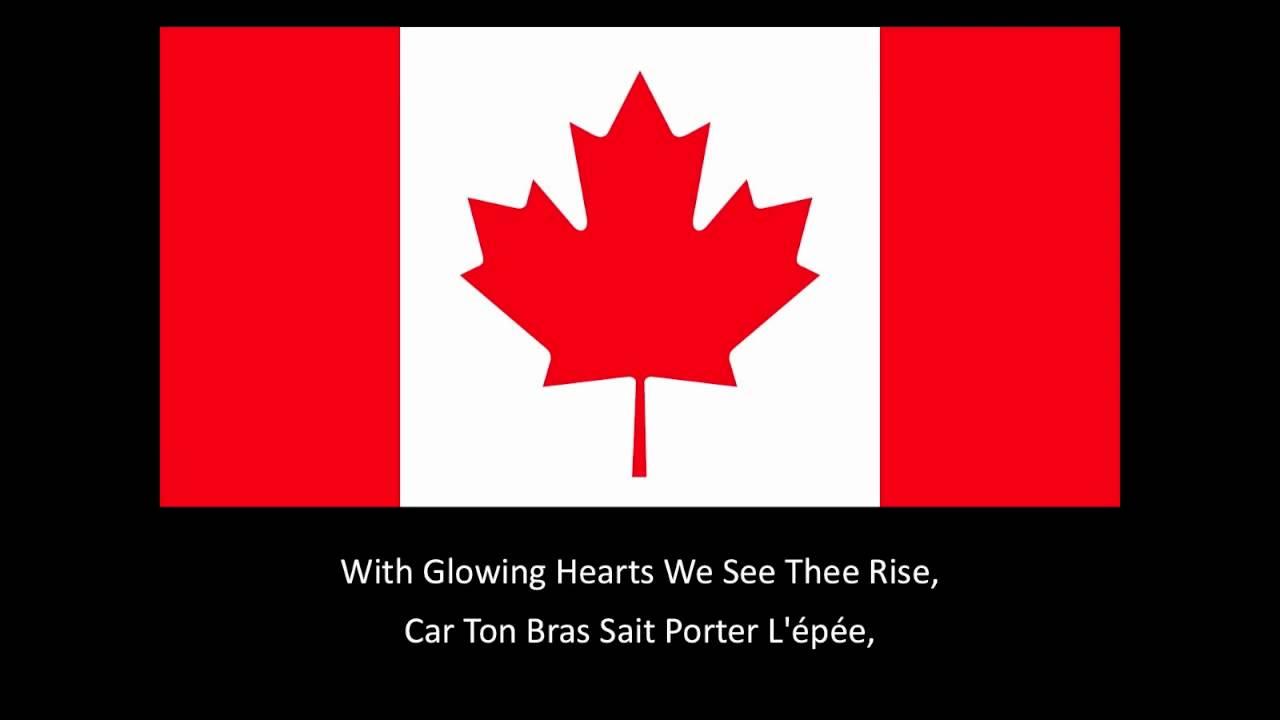 O Canada // The Canadian National Anthem // Hymne National Du Canada