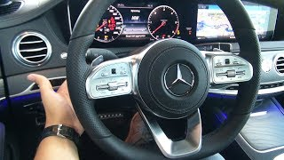 INSIDE the NEW Mercedes S Class Long AMG 2018 | Full Review Interior Exterior Infotainment