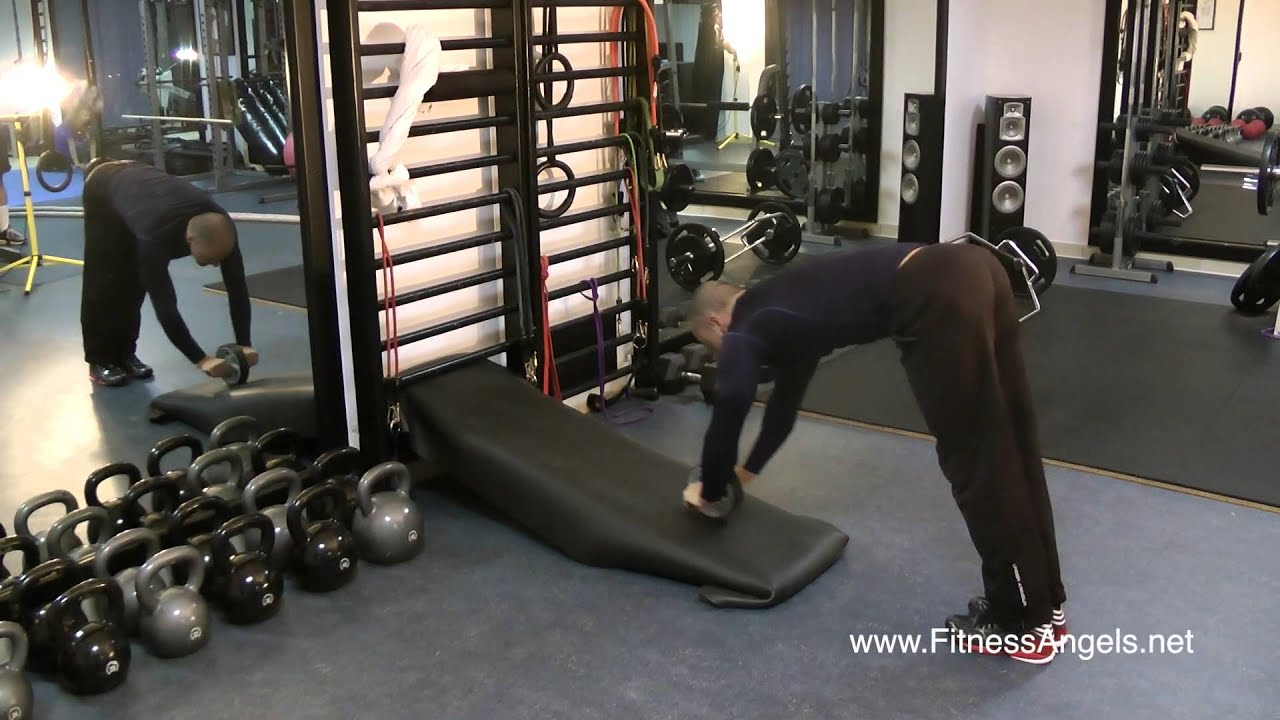 Ab Wheel Rollouts Progressions: Develop Strong Core - YouTube