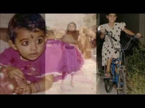 Nayanthara Childhood Photos, Unseen Video