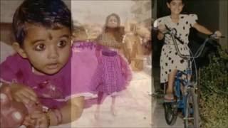 Nayanthara Childhood Photos, Unseen Video