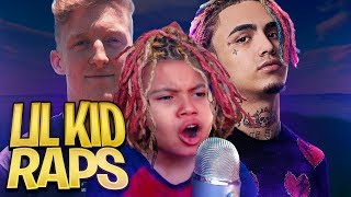 LITTLE KID RAPS LIKE LIL PUMP ON FORTNITE WTF!