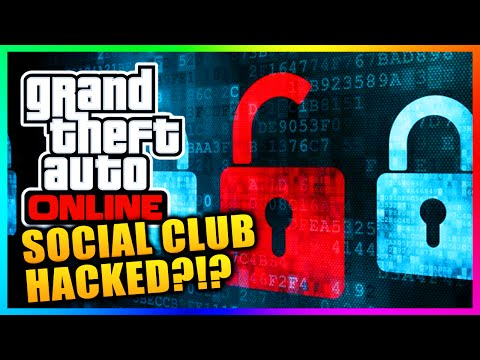 GTA 5 Online - Social Club Hacked?!? Change Your Password NOW! (GTA 5 Gameplay)