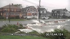 Hurricane Irene, Groton - Long Point , CT Stock Video Footage Archive Part One.