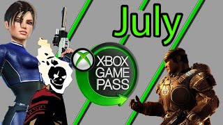 Xbox Game Pass July 2020 Games Suggestions And Additions