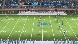 Madden NFL 13  - Cleveland @ Detroit - Xbox 360
