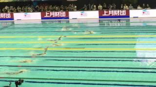 第92回日本選手権水泳競技大会 競泳競技 JAPANSWIM2016  女子200m個人メドレー決勝 大橋悠依 検索動画 9