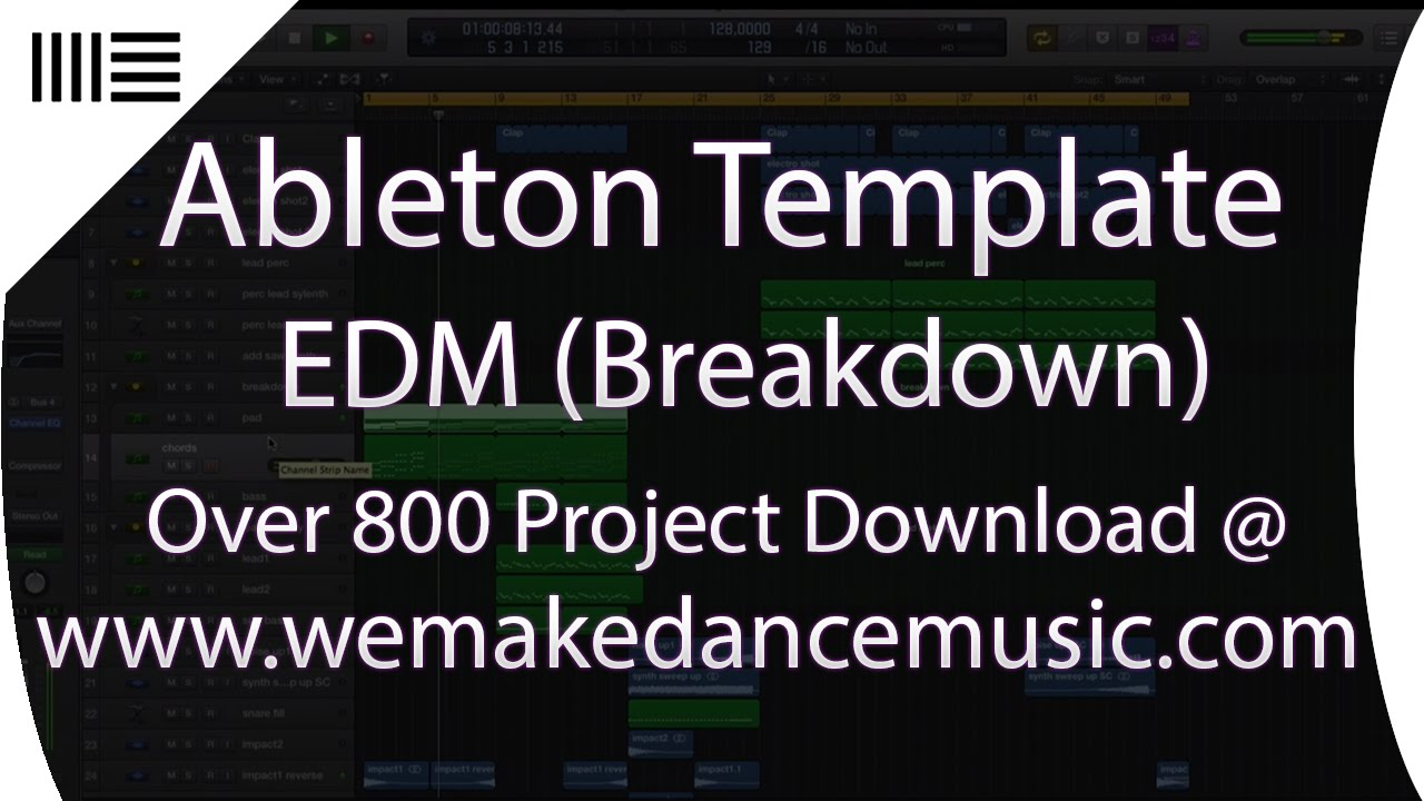 Dubstep Ableton Live Template Contradiction by Abletunes