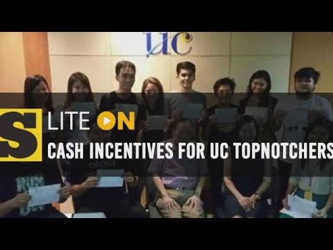 University of Cebu mihatag og cash incentives sa mga topnotchers