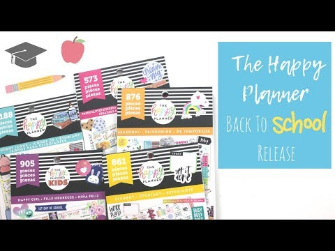 The Happy Planner | Back To School Release 2018