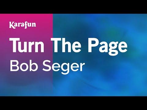 Karaoke Turn The Page - Bob Seger *