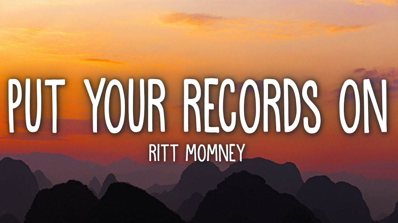 Ritt Momney - Put Your Records On (Lyrics)