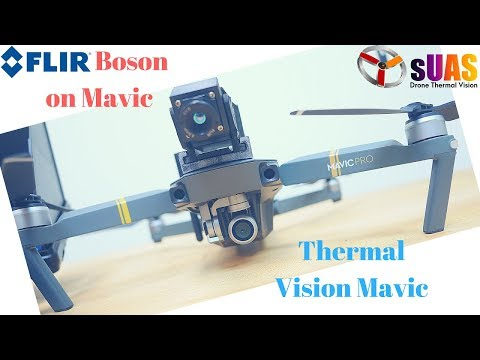 How to turn DJI Mavic into a Thermal Drone in less than 1