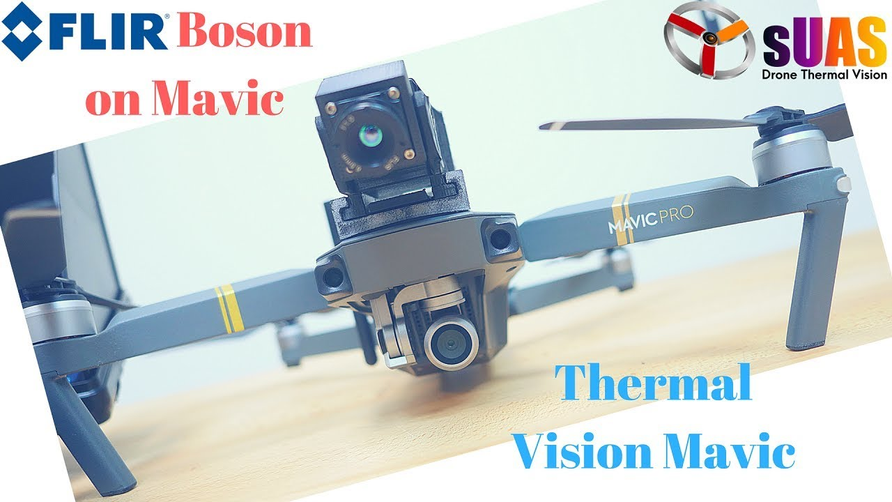 How to turn DJI Mavic into a Thermal Drone in less than 1 Minute for Search  and Rescue