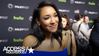 Candice Patton Talks 'The Flash' Musical Crossover Episode | Access Hollywood