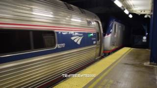 Route 128 Railfanning Compilation W/Awesome Hornshows! 12.29.16-12.30.16
