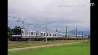 7月8日 E235系 1000番台 F-02編成 さつき野→荻川にて