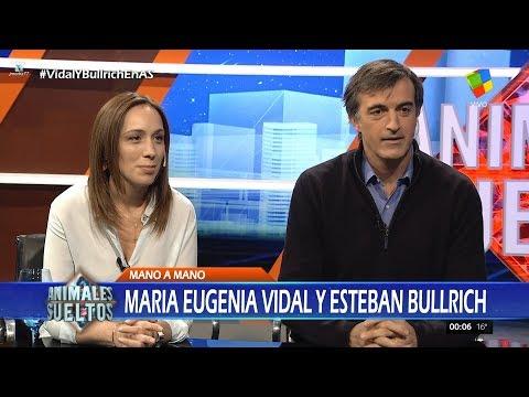 """M.E.Vidal y E.Bullrich en """"Animales sueltos"""", de A.Fantino - 19/10/17"""