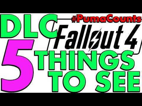 Top 5 Things I'd Like to See in Fallout 4 DLC #PumaCounts |
